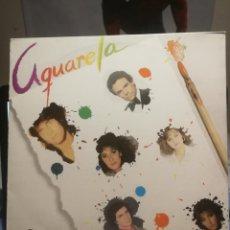 Discos de vinilo: LP ACUARELA MUSICAL VENEZUELA VARIOS ARTISTAS, CAMILO SESTO, ROCIO DURCAL, DIANGO, ETC. . Lote 199340496
