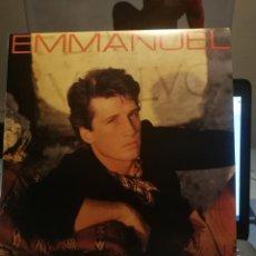 Discos de vinilo: EMMANUEL LP 1984 RCA VICTOR EDICION VENEZUELA HAY QUE ARRIMAR EL ALMA DETENEDLA YA. Lote 199340516