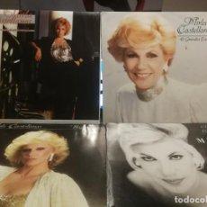 Discos de vinilo: 4 LPS DE MIRLA CASTELLANOS , ASI ES LA VIDA, HAGAN JUEGO, COMO NUNCA Y 16 GRANDES EXITOS EDICION VE. Lote 199340672