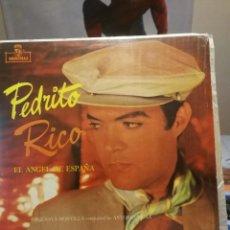 Discos de vinilo: PEDRITO RICO LP EL ANGEL DE ESPAÑA,SELLO MONTILLA EDITADO EN VENEZUELA. Lote 199340708