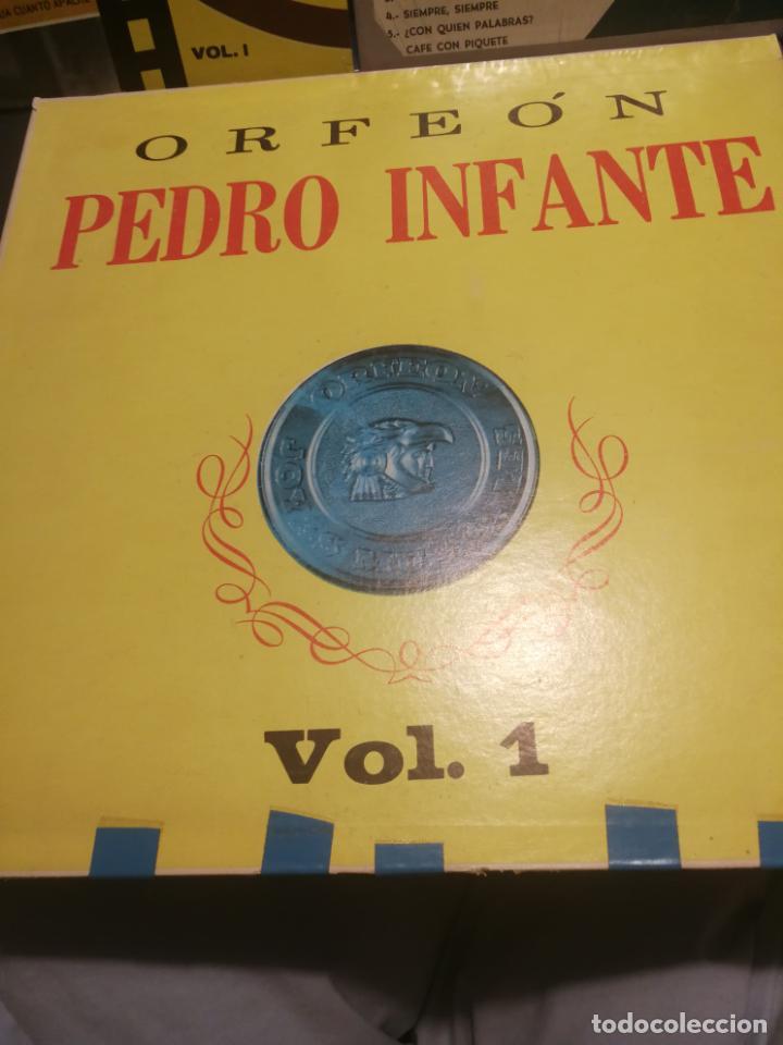 Discos de vinilo: 3 LPS PEDRO INFANTE ORFEON VOL. 1, INTERPRETA A RUBEN PENJAMO Y MUSICA DE SUS PELICULAS, EDICION VEN - Foto 2 - 199340752