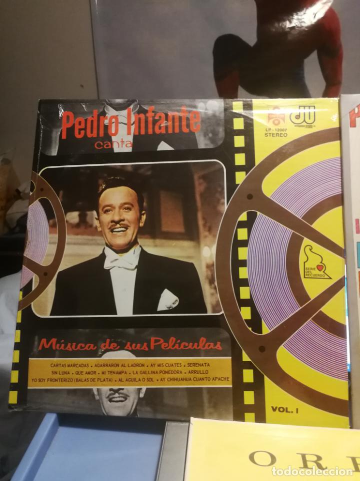 Discos de vinilo: 3 LPS PEDRO INFANTE ORFEON VOL. 1, INTERPRETA A RUBEN PENJAMO Y MUSICA DE SUS PELICULAS, EDICION VEN - Foto 4 - 199340752