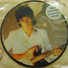 Disques de vinyle: GARY MOORE – FALLING IN LOVE WITH YOU - SINGLE UK PICTURE DISC 1983. Lote 199358868