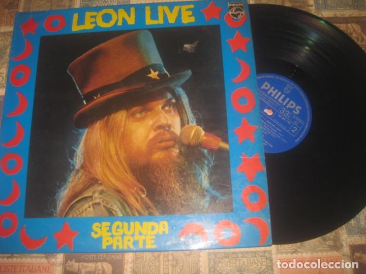 LEON RUSSELL LIVE SEGUNDA PARTE (1974 PHILIPS) OG ESPAÑOLA (Música - Discos de Vinilo - EPs - Pop - Rock Internacional de los 70)