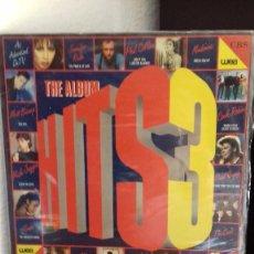 Discos de vinilo: HITS 3 THE ALBUM - ARTISTAS VARIOS - DOBLE LP CARPETA ABIERTA ( Nº 1). Lote 199370007