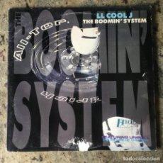 Discos de vinilo: LL COOL J - THE BOOMIN' SYSTEM . MAXI SINGLE . 1990 USA. Lote 199375451