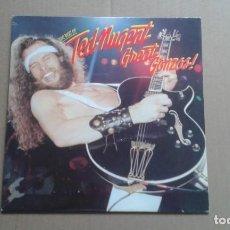 Discos de vinilo: TED NUGENT - THE BEST OF TED NUGENT GREAT GONZOS LP 1981 EDICION ESPAÑOLA. Lote 199376950