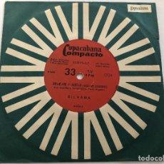 Discos de vinilo: DISCO 7 PULGADAS SILVANA /BEIJE-ME E ADEUS / EM ARANJUEZ COM TEU AMOR EDITADO EN BRASIL 1968. Lote 199380741