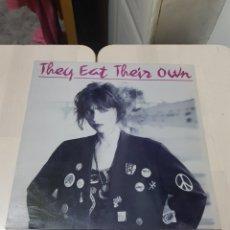 Discos de vinilo: LP VINILO THEY EAT THEIR OWN. Lote 199381258