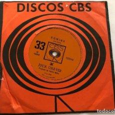 Discos de vinilo: DISCO 7 PULGADAS JUCA CHAVES/ ROMINA /LE COM LE CRE COM CRE EDITADO EN BRASIL 1968. Lote 199381510