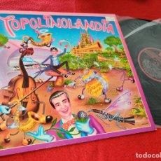 Discos de vinilo: RADIO TOPOLINO ORQUESTA TOPOLINOLANDIA LP 1982 CFE EXCELENTE ESTADO. Lote 199383072
