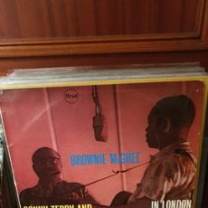 Discos de vinilo: SONNY TERRY AND BROWNIE MCGHEE / IN LONDON / MIXA 1958. Lote 199389262