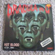 Discos de vinilo: LP. DRACULA AND C. HOT BLOOD. . Lote 199405588