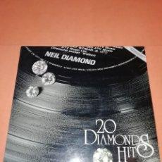 Discos de vinilo: NEIL DIAMOND. 20 DIAMONDS HITS. MCA RECORDS 1979. Lote 199406111