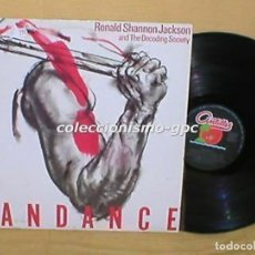 Discos de vinilo: RONALD SHANNON JACKSON & THE DECODING SOCIETY SPAIN LP MANDANCE AVANT GARDE FREE JAZZ ROCK FUSION. Lote 199416080