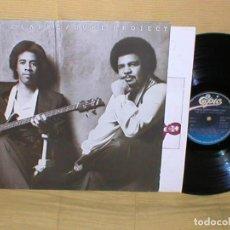 Discos de vinilo: STANLEY CLARKE AND GEORGE DUKE SPAIN LP THE CLARKE / DUKE PROJECT 1984 JAZZ ROCK FUNK BUEN ESTADO !!. Lote 199417076