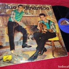 Discos de vinilo: DUO DINAMICO LP 1962 LA VOZ DE SU AMO LCLP191 RARO. Lote 199424636
