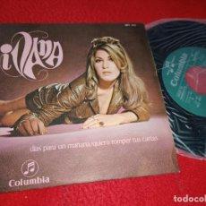 Discos de vinilo: IVANA DIAS PARA UN MAÑANA / QUIERO ROMPER TUS CARTAS 7'' SINGLE 1968 COLUMBIA PROMO EX PEPE NIETO. Lote 199424675