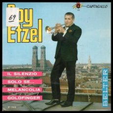 Discos de vinilo: XX VINILO, ROY ETZEL, IL SILENZIO, SOLO SE, MELANCOLIA Y GOLDFINGER.. Lote 199424735