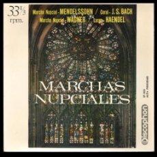 Discos de vinilo: XX VINILO, MARCHAS NUPCIALES, MARCHA NUPCIAL, CORAL, LARGO Y DEMAS.. Lote 199426192
