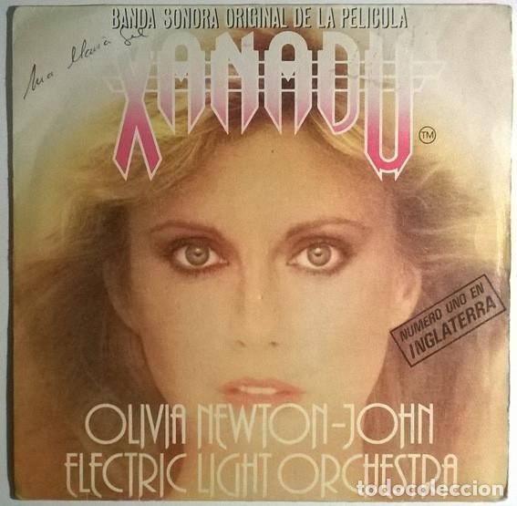 OLIVIA NEWTON-JOHN/ ELECTRIC LIGHT ORCHESTRA. XANADU (BSO)/ LOCO PAIS. JET, SPAIN 1980 SINGLE (Música - Discos - Singles Vinilo - Bandas Sonoras y Actores)