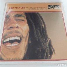 Discos de vinilo: SUN IS SHINING. BOB MARLEY. LP EN BUEN ESTADO.. Lote 199458245