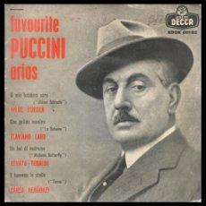 Discos de vinilo: XX VINILO, ARIAS DE PUCCINI, HILDE GUEDEN, FLAVIANO LABO, RENATA TEBALDI Y CARLO BERGONZI.. Lote 199460788
