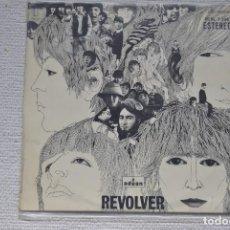 Discos de vinilo: LP THE BEATLES DISCO VINILO REVOLVER ODEON 1966 DE PROMOCION MADE IN SPAIN. Lote 199463012