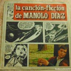 Discos de vinilo: MANOLO DIAZ - LA CANCION FICCIÓN DE MANOLO DIAZ - SINGLE 1967. Lote 199467365