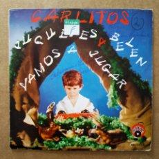 Discos de vinilo: VINILO DE 7 PULGADAS CARLITOS (ALBA'C/COFASA, 1971).. Lote 199475552