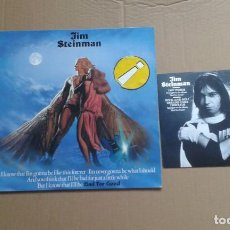 Discos de vinilo: JIM STEINMAN - BAD FOR GOOD LP + SINGLE 1981 EDICION ESPAÑOLA. Lote 199476726