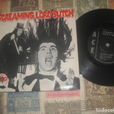 Discos de vinilo: SCREAMING LORD SUTCH ‎– SCREAMING LORD SUTCH EP 1981ACE ORIGINAL UK ROCKABILLY TERROR MON DOG. Lote 199477688