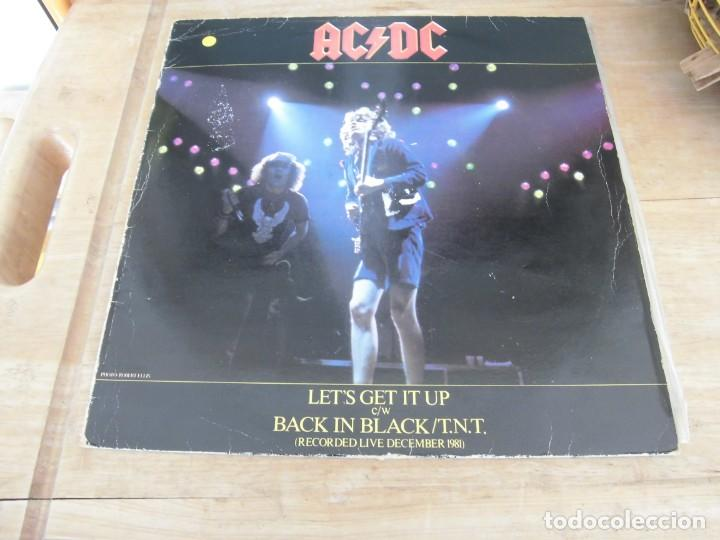 AC/DC- LET´S GET IT UP (Música - Discos de Vinilo - Maxi Singles - Heavy - Metal)