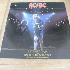 Discos de vinilo: AC/DC- LET´S GET IT UP. Lote 199478461