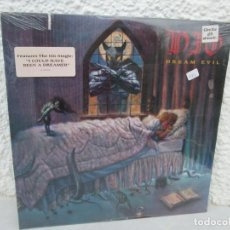 Discos de vinilo: DREAM EVIL.PRODUCED BY RONNIE JAMES DIO. LP VINILO. WARNER BROS RECORDS 1987. NUEVO SIN DESPRECINTAR. Lote 199482816