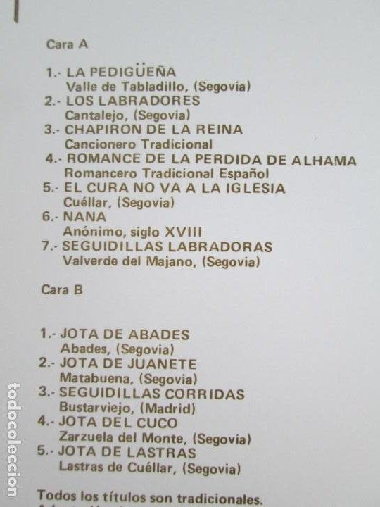 Discos de vinilo: HADIT POR LAS DOS CARAS. LP VINILO. SAGA 1987. VER FOTOGRAFIAS ADJUNTAS - Foto 5 - 199483057
