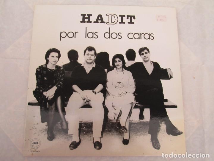 Discos de vinilo: HADIT POR LAS DOS CARAS. LP VINILO. SAGA 1987. VER FOTOGRAFIAS ADJUNTAS - Foto 10 - 199483057