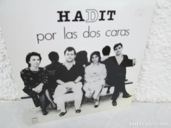 Discos de vinilo: HADIT POR LAS DOS CARAS. LP VINILO. SAGA 1987. VER FOTOGRAFIAS ADJUNTAS - Foto 11 - 199483057