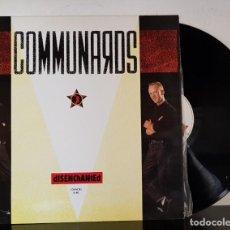 Discos de vinilo: COMMUNARDS - DISENCHANTED - FOCO 1986. Lote 199487965