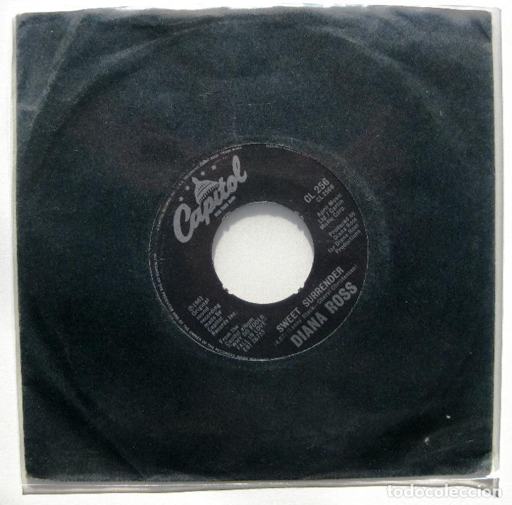Discos de vinilo: Diana Ross - Its Never Too Late - Single Capitol Records 1981 UK BPY - Foto 2 - 199488272