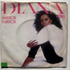 Discos de vinilo: DIANA ROSS - MIRROR MIRROR - SINGLE CAPITOL RECORDS 1981 UK BPY. Lote 199490278