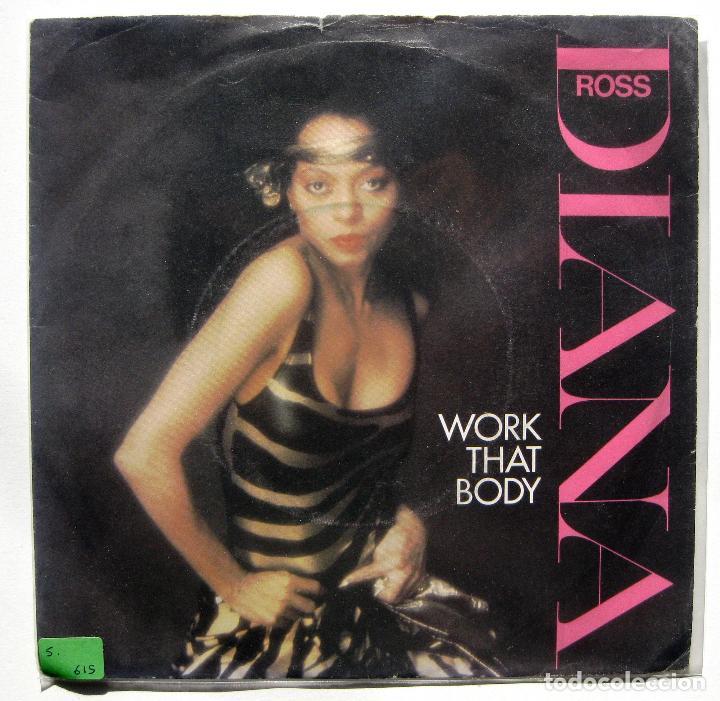DIANA ROSS - WORK THAT BODY - SINGLE CAPITOL RECORDS 1981 UK BPY (Música - Discos - Singles Vinilo - Funk, Soul y Black Music)