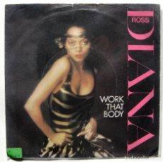Discos de vinilo: DIANA ROSS - WORK THAT BODY - SINGLE CAPITOL RECORDS 1981 UK BPY. Lote 199490626