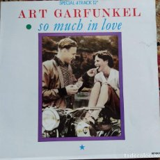 Discos de vinilo: ART GARFUNKEL - SO MUCH IN LOVE (12 PULGADAS) (CBS) CBS 651450 6. Lote 199490918