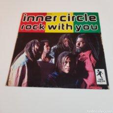 Discos de vinilo: INNER CIRCLE - ROCK WITH YOU 1992 MAXI SINGLE. Lote 199491022