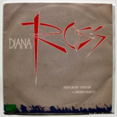 Discos de vinilo: DIANA ROSS - TOUCH BY TOUCH - SINGLE CAPITOL RECORDS 1984 BPY. Lote 199492091