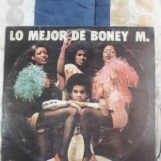 Discos de vinilo: DISCO LO MEJOR DE BONEY M.. Lote 199493547