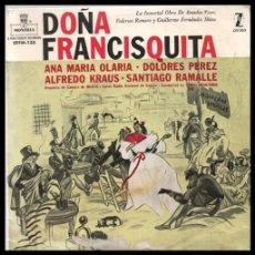 Discos de vinilo: XX VINILO, DOÑA FRANCISQUITA, . Lote 199493958