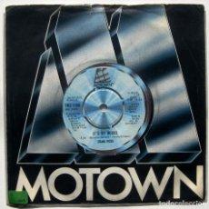 Discos de vinilo: DIANA ROSS - IT'S MY HOUSE / SPARKLE - SINGLE MOTOWN 1979 UK BPY. Lote 199494330