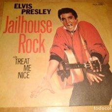 Discos de vinilo: ELVIS PRESLEY SINGLE - ROCK'N'ROLL-THE BEATLES (COMPRA MINIMA 15 EUROS) ENVIOS CORREOS EXPRES 24 HOR. Lote 199494963